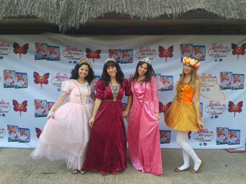 animadores infantiles en Madrid princesas