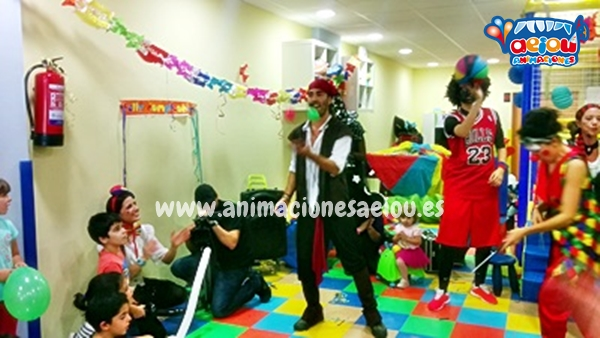 fiestas infantiles en Madrid a domicilio
