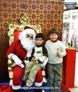 Contratar a Papá Noel en Madrid a domicilio