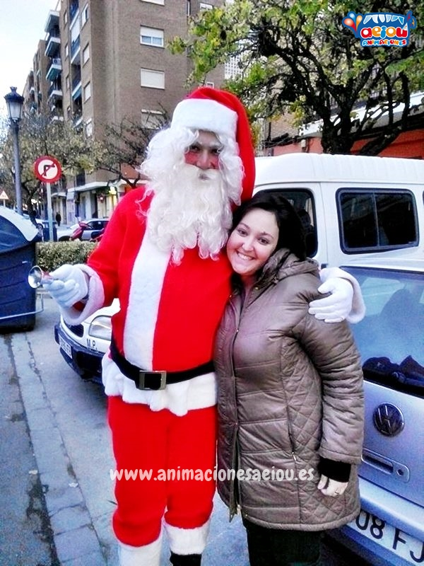 Contratar a Papá Noel en Madrid