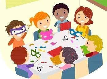 Variedad de dibujos educativos para ni osfiestas - Ninos en clase dibujo ...