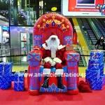 Contratar la visita de Papá Noel a domicilio en Madrid