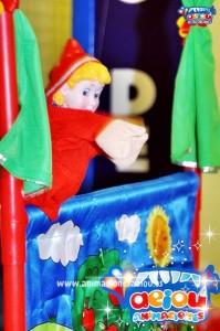 Títeres de goma espuma para niños, marionetas infantiles