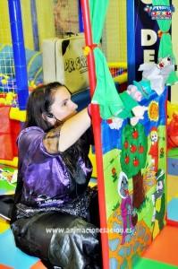 Títeres de goma espuma para niños marionetas infantiles