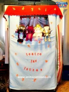 Titeres de goma espuma para niños, marionetas infantiles