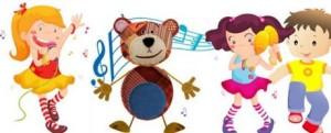 Canciones infantiles para bailar con niños.