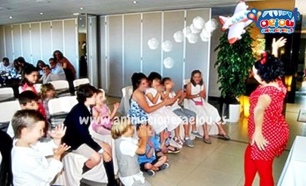Animaciones de bodas en Madrid