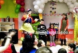 Payasos para fiestas cumpleaños infantiles Madrid