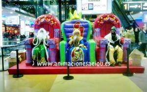 Los Reyes Magos a domicilio Madrid