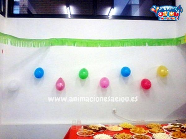 Decoración de fiestas infantiles en Madrid a domicilio