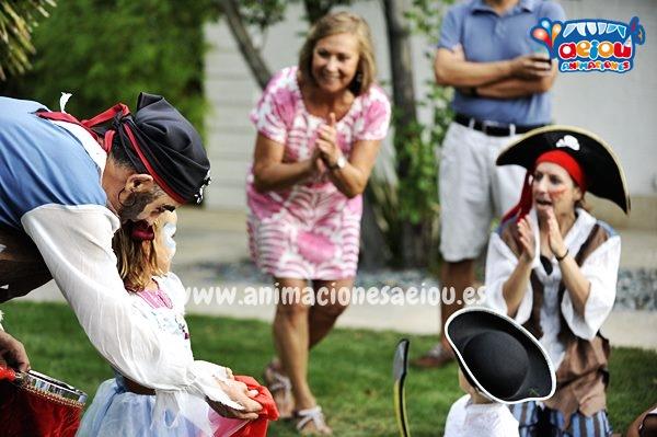 Fiestas temáticas de piratas en Madrid