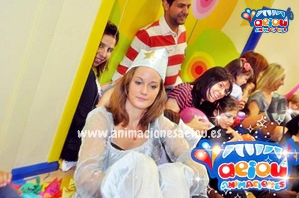 Animadores de cumpleaños infantiles temáticos de princesas en Madrid